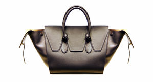 Ladies leather handbag Royalty Free Stock Image