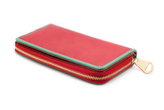 Ladies leather wallet Royalty Free Stock Photo