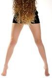 Ladies legs Royalty Free Stock Photography
