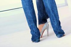 Ladies legs Royalty Free Stock Image