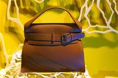 Ladies luxury handbag royalty free stock photography