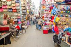 Ladies Market Stock Photo