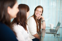 Ladies meetings Royalty Free Stock Images