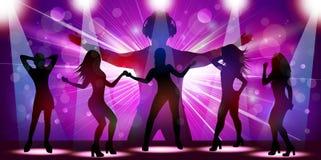 Ladies night flyer. Illustration of Ladies night flyer Stock Image