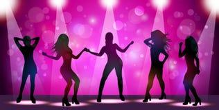 Ladies night flyer. Illustration of Ladies night flyer Stock Photography