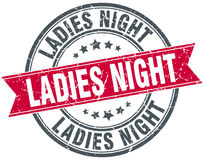 Ladies night stamp Royalty Free Stock Photography