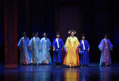 The ladies of the palace-into the palace-Modern drama Empresses in the Palace Stock Photo