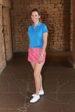 Ladies pro golfer Emma Cambrera-Bello November 2015 in South Afr Royalty Free Stock Images