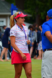 Ladies Professional Golfer Lexi Thompson KPMG Women's PGA Championship 2016 Royalty Free Stock Photos