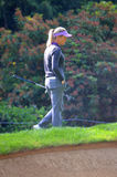 Ladies Professional Golfer Suzann Pettersen  at the KPMG Women's PGA Championship 2016 Royalty Free Stock Images