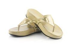 Ladies sandal Stock Photos