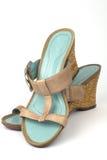 Ladies Sandals Stock Photography