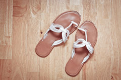 Ladies' sandals Royalty Free Stock Photos