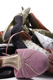 Ladies Shoe Mountain Stock Images