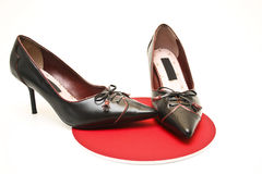 Ladies shoe Stock Images