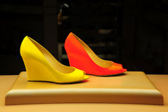 Ladies shoes royalty free stock photography
