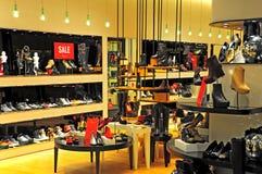 Ladies shoes boutique Stock Images