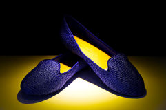 Ladies shoes royalty free stock photos