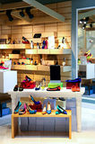 Ladies shoes store Stock Image