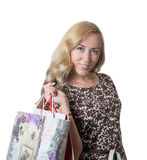 Ladies shopping Royalty Free Stock Images