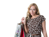 Ladies shopping Royalty Free Stock Photography