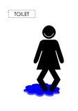 Ladies sign Stock Images