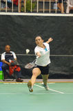 LADIES' SINGLES BADMINTON Royalty Free Stock Photos