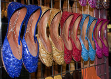Ladies Slipper and Sandal Stock Image