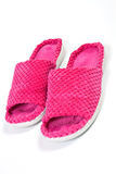 Ladies slippers Royalty Free Stock Photo