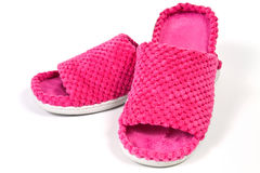Ladies slippers Royalty Free Stock Image
