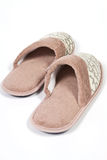 Ladies slippers Stock Images