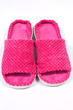 Ladies slippers Royalty Free Stock Images