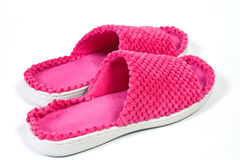 Ladies slippers Stock Photography