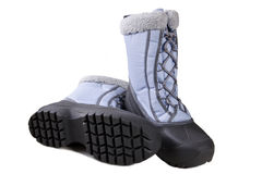Ladies Snow Boots stock images