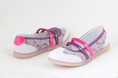 Ladies spring-summer shoes Royalty Free Stock Photo