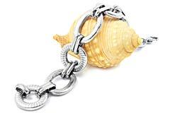 Ladies Stainless Steel Bracelet Stock Images
