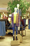 Ladies summer clothing store Royalty Free Stock Photos