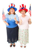 Ladies of the Tea Party Stock Images