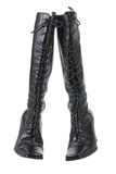 Ladies Thigh High Boots Royalty Free Stock Image