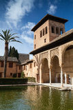 In Alhambra in Granada Stock Photography