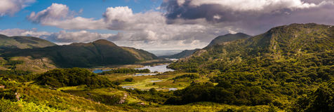 Ladies View, Ireland. Ladies View is a scenic overlook along the N71 portion of the Ring of Kerry, in Killarney National Park, Ireland. The name apparently stems Royalty Free Stock Image