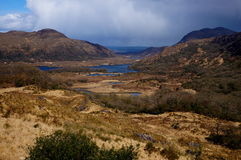 Ladies view killarney. Ladies view in killarney ireland Royalty Free Stock Photo