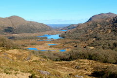 Ladies view killarney. Ladies view in killarney ireland Royalty Free Stock Images