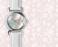 Ladies watch royalty free stock photography