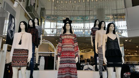 Ladies Wear Departmental Store. The fahion ladies wear retail store and Farenheit Shopping Mall Bukit Bintang Kuala Lumpur Malaysia Stock Image