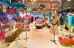 Ladies wear shop at Siam Center, Bangkok City Stock Photography