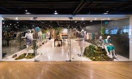 Ladies wear shop at Siam Center, Bangkok City Royalty Free Stock Photography