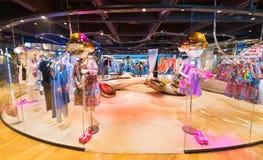 Ladies wear shop at Siam Center, Bangkok City, Thailand Stock Photo