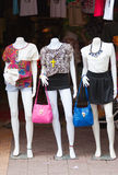 Ladies wear shop in Siem Reap, Cambodia Stock Photo