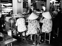 Ladies who lunch, Hoi An Vietnam Royalty Free Stock Photography